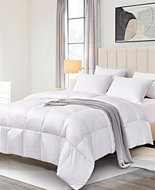 ELLE DÉCOR Ultra-Soft Nano-Touch Light Warmth White Down Fiber Comforter