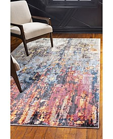 Chelsea Downtown Jzd009 Multi 8' x 10' Area Rug