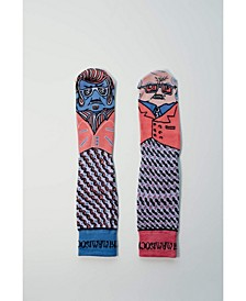 Socks for Creatives - Volume 2.1 - Tony Two Toes and Leftie Socks