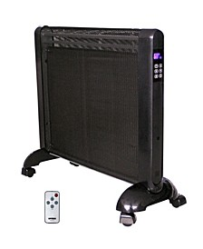 H-8412 Micathermic Flat-Panel Heater with Remote Control