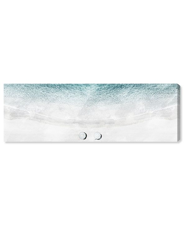 """Oliver Gal The Beachto Ourselves Canvas Art, 30"""" x 10"""""""