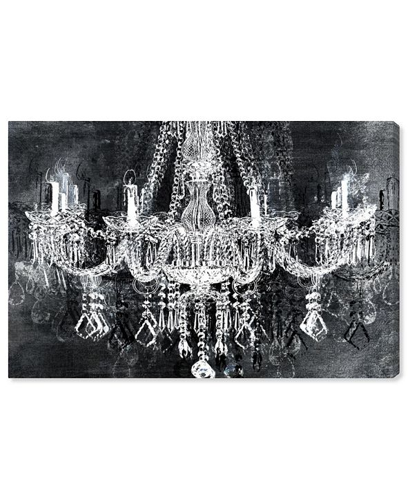 """Oliver Gal Crystal Attraction Canvas Art, 24"""" x 16"""""""