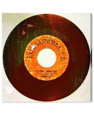 Rebel Vinyl Canvas Art, 16