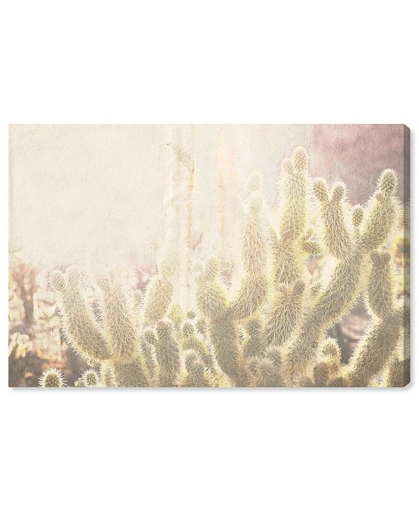 "Oliver Gal Cactus Canvas Art, 15"" x 10"""