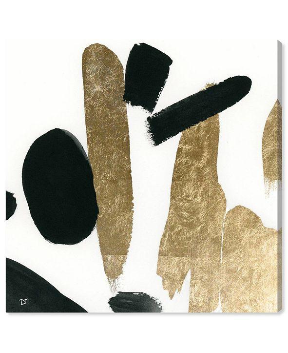 "Oliver Gal Big Gold Canvas Art, 16"" x 16"""
