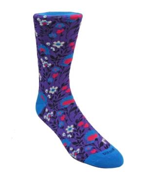 Men's Floral Dress Sock