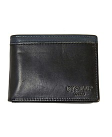 Men's RFID Genuine Leather Pass case Wallet