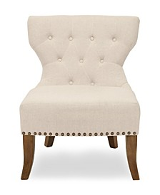 Wing Back with Nail Head Chair