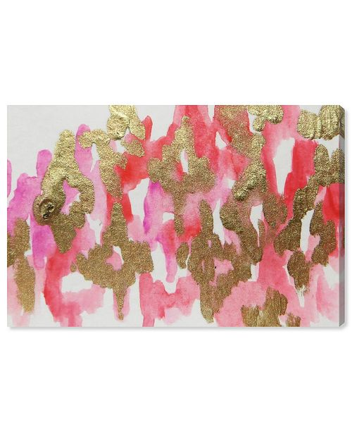 "Oliver Gal Pink Palaris Canvas Art, 15"" x 10"""