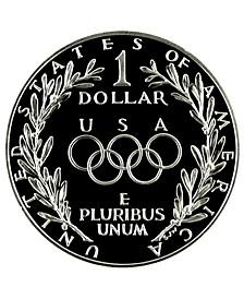 Olympics Seoul Silver Dollar