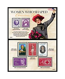 Women Who Shaped American History Postage Stamp Collection