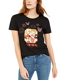 Juniors' Mickey Mouse Lunar New Year T-Shirt