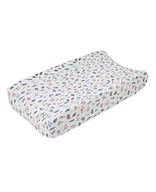 Painterly Floral Changing Pad Cover
