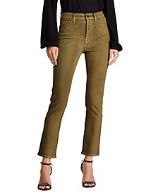 Petite Regal Straight Ankle Jeans
