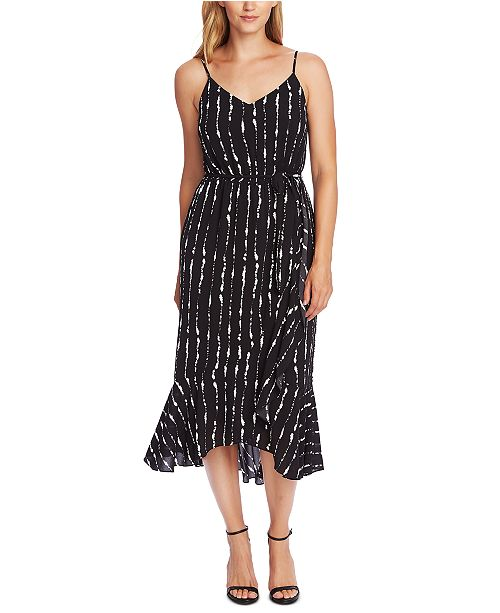 Vince Camuto Printed Camisole Midi Dress
