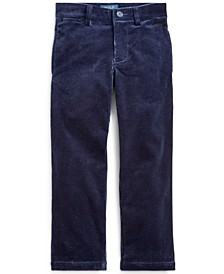 Little Boy's Slim Fit Stretch Corduroy Pants