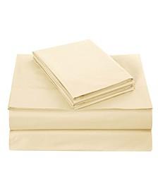 Cotton Sheet Set, Twin