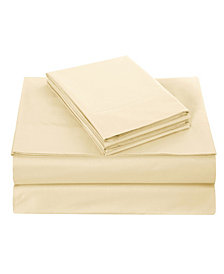 EnvioHome Cotton Sheet Set, Queen