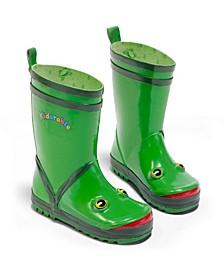 Big Boy Natural Rubber Frog Rain Boots