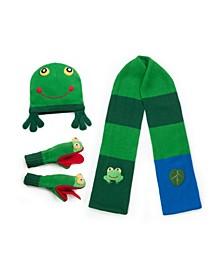 Big Boy Frog Knitwear Set
