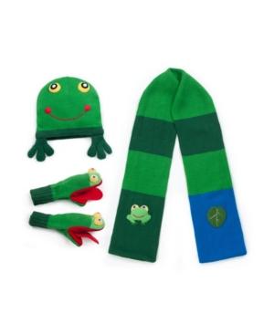 Kidorable Big Boy Frog Knitwear Set
