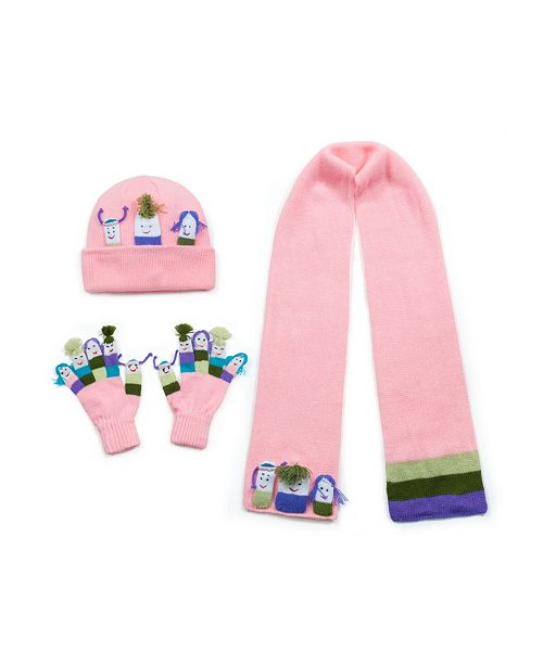 Kidorable Little and Big Girl Knitwear Set