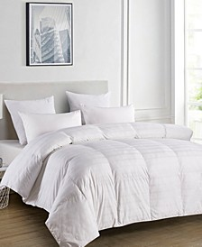 500 Thread Count Windowpane Duraloft® Down Alternative King Comforter