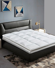 233 Thread Count Cotton 2 Inch Gusseted King Featherbed