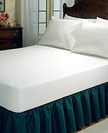 Fitted Vinyl Mattress Protector, Queen