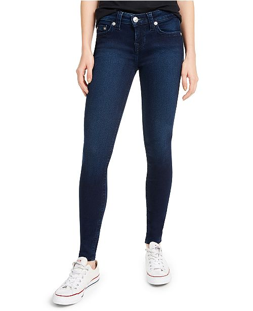 True Religion Halle Mid-Rise Skinny Jeans