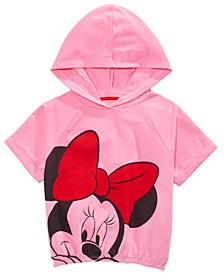 Big Girls Minnie Mouse Hoodie Shirt