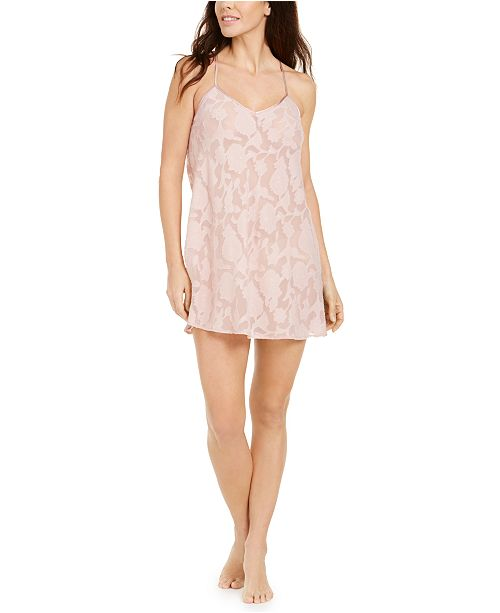 Flora by Flora Nikrooz Brielle Jacquard Chemise Nightgown
