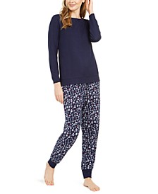 Women's Jogger Pajama Set, Online Only
