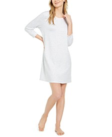 Women's Sweater Knit Sleepshirt Nightgown, Online Only