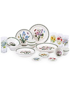 Botanic Garden 25-Pc. Dinnerware Set, Service for 4, Created for Macy's
