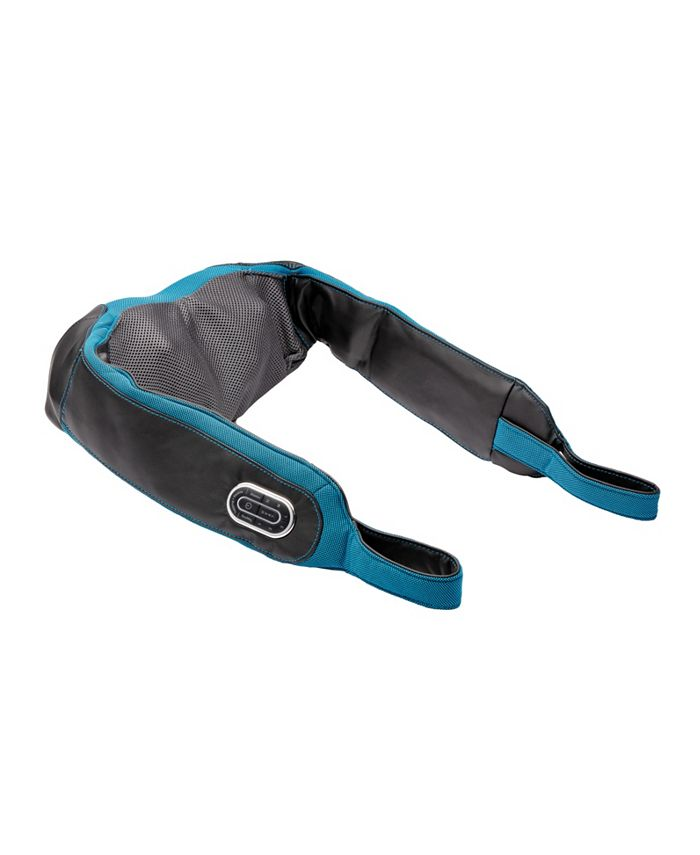 Brookstone - 2-in-1 Tapping and Shiatsu Massager with Heat