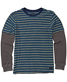 Big Boys Layered-Look Long-Sleeve T-Shirt