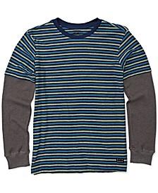 Big Boys Layered-Look Long-Sleeve T-Shirt