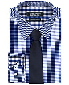 Men's Modern-Fit Dress Shirt and Tie