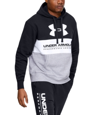 Under Armour Tops MEN'S ORIGINATOR COLORBLOCKED FLEECE TRAINING HOODIE