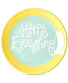 by Laura Johnson Mint Happy Everything! Dessert Plate