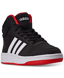 Little Boys Hoops 2.0 Mid Top Casual Sneakers from Finish Line