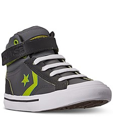 Little Boys Pro Blaze Strap High Top Casual Sneakers from Finish Line