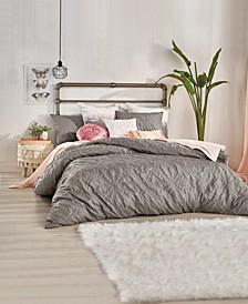 Home Velvet Tile King Comforter Set