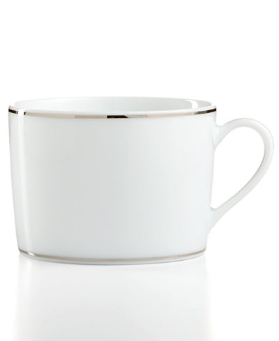 Bernardaud Dinnerware, Dune Blue Teacup