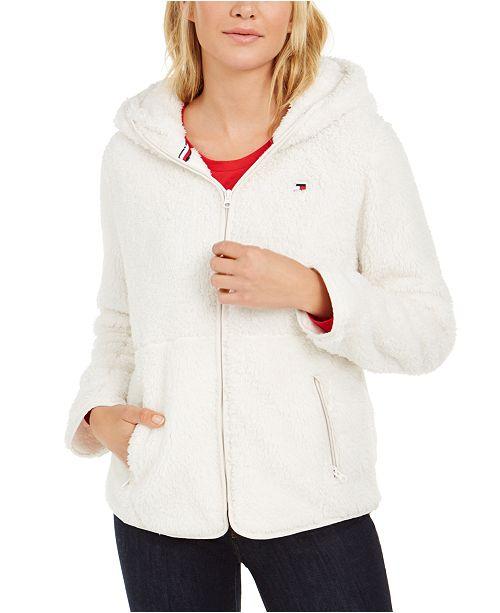 Tommy Hilfiger Hooded Fleece Jacket
