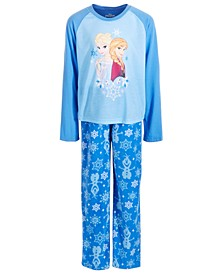 Little & Big Girls 2-Pc. Frozen Pajama Set