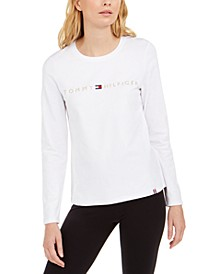 Embroidered-Logo Top