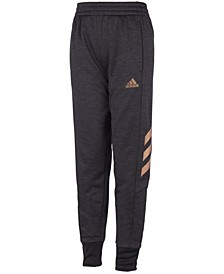 Big Boys Mélange Fleece Jogger Pants