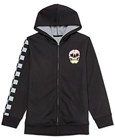 Big Boys Checker Skull Hoodie